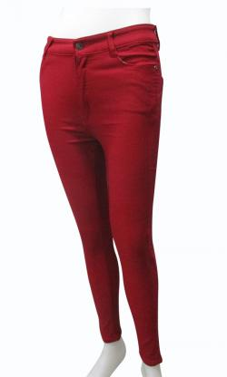 Papaya Red Fitting Pant - (EZ-064)