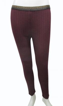 Brown Spander Leggings For Ladies - (EZ-065)