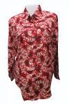 Cotton Printed Shirt For Ladies - (EZ-084)