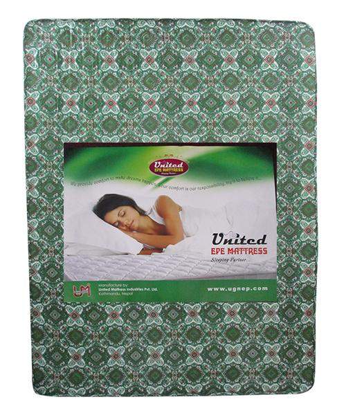 "Green 60X78X4"" High Quality EPE Mattress - (GM-60784)"