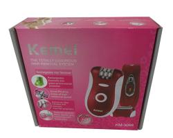 Kemei Effecient Epilator Km-3068 Rechargeable Shaver For Women - (KM-3068)