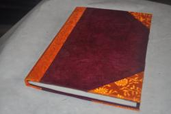 Hand made Notebook.