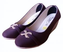 Ladies' Wedge Heel Shoes - (SH-006)