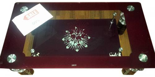 Glasstop Coffee Table - (LS-051)