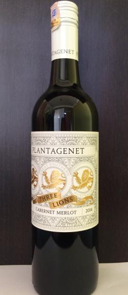 Plantagenet Three Lion Cabernet Merlot 2014 - (PLANTAGENET-002)