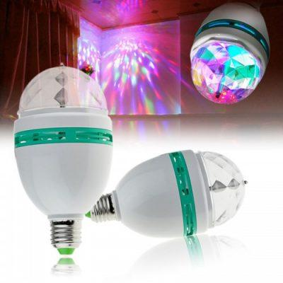 3 Colors LED Full Color Rotating Lamp Stage Light - (LT-007)