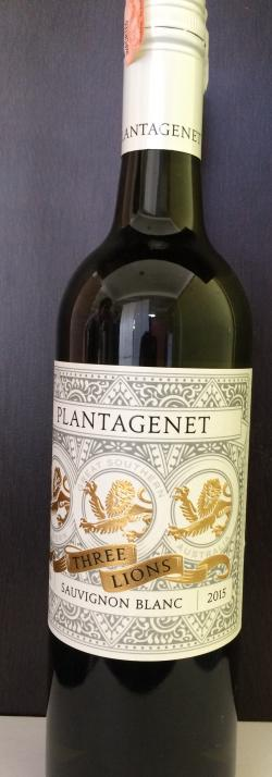Planatagenet Three Lion Sauvignon Blanc 2015 - (PLANATAGENET-005)