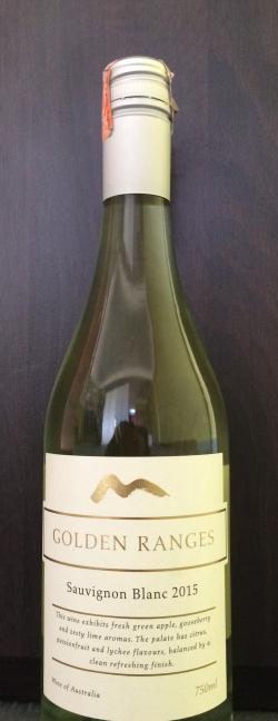 Golden Ranges Sauvignon Blanc 2015 - (SAU-001)