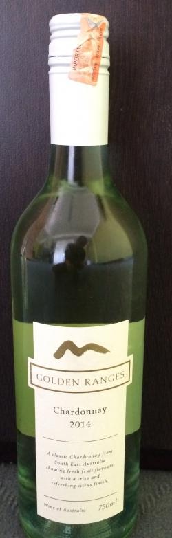 Golden Ranges Chardonnay 2014 - (CHAR-001)