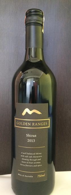 Golden Ranges Shiraz 2013 - (SHIRAZ-001)