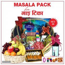 Bhai Tika Masala Gifts - Set 26
