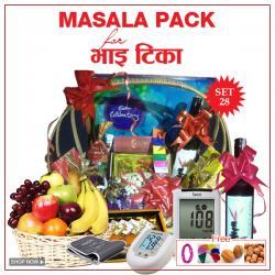 Bhai Tika Masala Gifts - Set 28