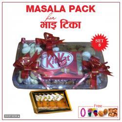 Bhai TIka Masala Gifts - Set 8
