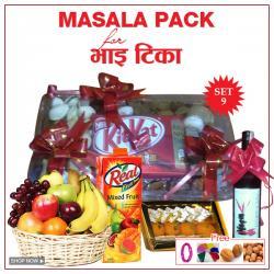 Bhai Tika Masala Gifts - Set 9