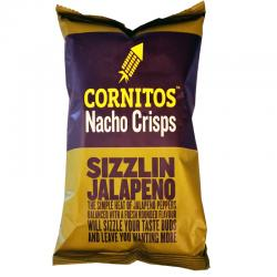Cornitos Nacho Crisps Sizzlin Jalapeno140gm - (TP-0105)