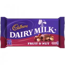 Dairy Milk Chocolate Fruits & Nuts 120gm - (TP-0169)