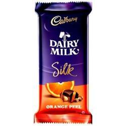 Dairy Milk Silk 145gm Orange Peel - (TP-0172)