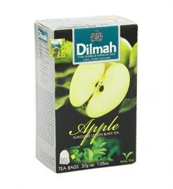 Dilmah Apple Ceylon Black Tea 20 Tea Bags - (TP-0196)