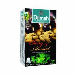 Dilmah Cherry & Almond Ceylon Black Tea 20 Tea Bags - (TP-0197)