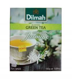 Dilmah Green Tea Jasmine 100 Tea Bags - (TP-0199)