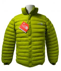 High Copy North Face Green Down Jacket - (TP-142)