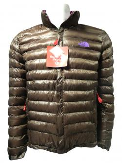 High Copy North Face Brown Down Jacket - (TP-144)