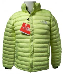 High Copy North Face Green Down Jacket - (TP-146)