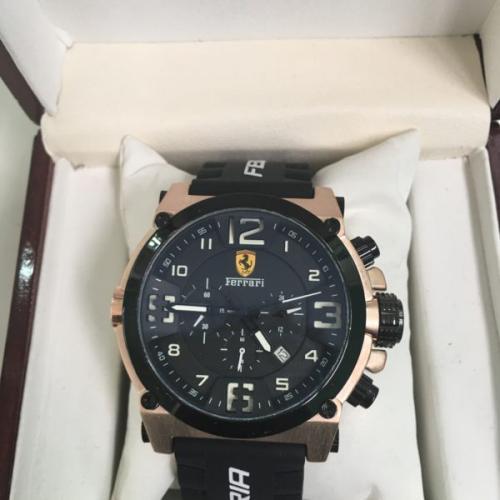 Ferrari Chronograph white
