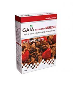 Gaia Strawberry Muesli 425g Box - (TP-0109)