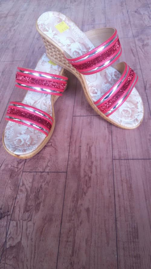 Party Wedge Sandals Sh-018