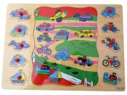 Vehicle Puzzle Toy - (NUNA-005)