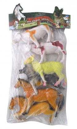 6 pcs Animal Toy - (NUNA-020)