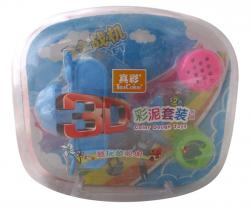 3D Lego(Clay) Color Dough Toys - (NUNA-024)