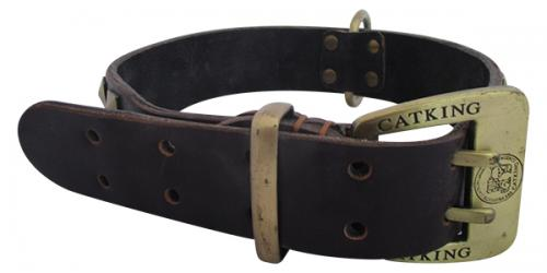 CATKING Leather/Brass Belt - (APA-031)