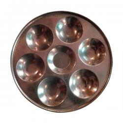 Pooja Thali - Small - Round - (NBN-021)