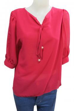 Chiffon T-Shirt For Ladies - (WM-0033)