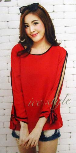 Chiffon Full Sleeve T-Shirt - (WM-0035)