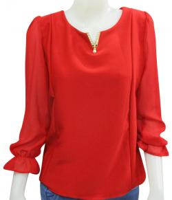 Silk Fancy T-Shirt For Ladies - (WM-0040)