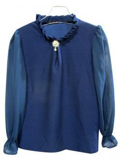 Plain Silk Tops For Ladies - (WM-0043)