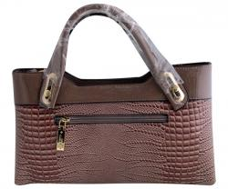 Crocodile Leather Handbag For Ladies - (WM-0069)