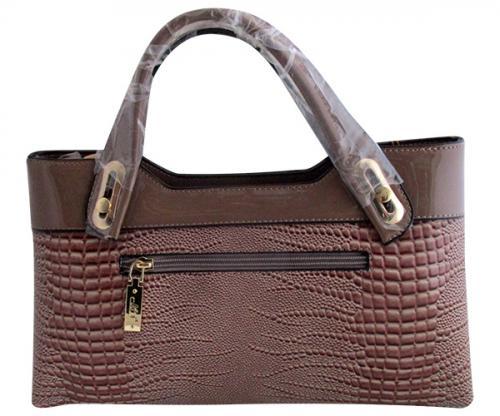 Crocodile Leather Handbag For Ladies - (WM-0069)