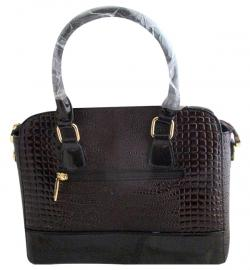 Crocodile Leather Handbag For Ladies - (WM-0076)