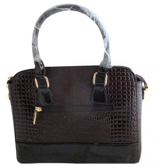 Crocodile Leather Handbag For Ladies - (WM-0076)