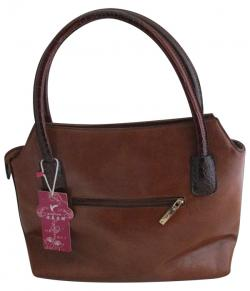 Leather Hand Bag For Ladies - (WM-0081)
