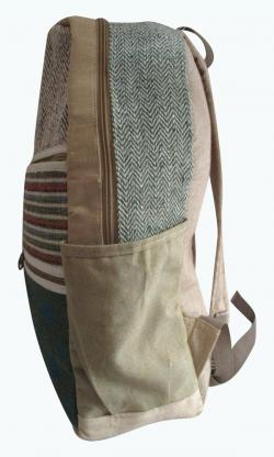 Hemp Cotton Laptop cum Travel Bag - (SOU-004)
