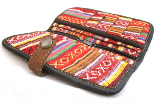 Cotton / Leather Wallet for Men - (SOU-011)