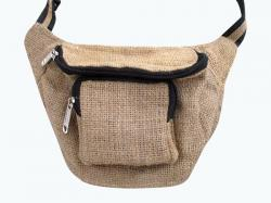 Recycled Jute Waist Bag - (SOU-012)