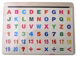 Magnetic White Board + Puzzle - (NUNA-038)