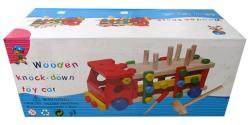 Wooden Tools Blocks Toy Car - (NUNA-042)