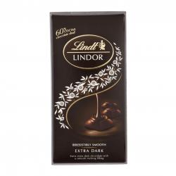 Lindt Lindor Extra Dark Chocolate 100g - (TP-0181)